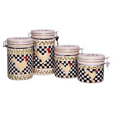 black and white kitchen canisters 112 best canister sets images on kitchen canisters