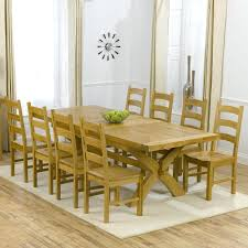 dining table and 10 chairs uk seater nz oak 100cm 108 inches room