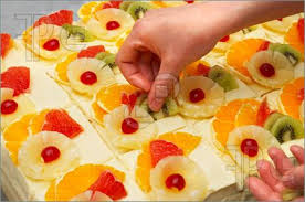 fruit decorations decorating fruit cakes trendy mods