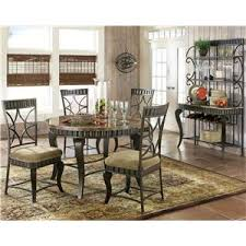 marble and metal dining table steve silver hamlyn 5 piece round faux marble top metal dining table