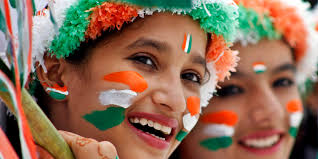 Flag Face Tiranga Net Unistal Celebrates Its Passion For Nation Dqweek