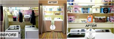 How To Do Spring Cleaning How To Reorganize Your Laundry Room U2013 A Before And After