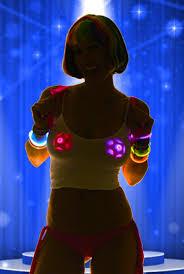 led light up pasties light up led pasties blue stars bright led s