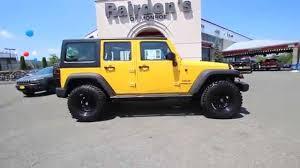 yellow jeep wrangler unlimited 2015 jeep wrangler unlimited sport baja yellow fl641727