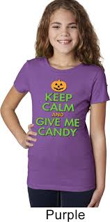 halloween shirts girls halloween shirt keep calm and give me candy tee t shirt