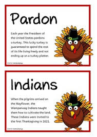 thanksgiving fact cards by treetop displays teachers pay teachers