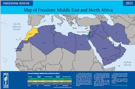 Middle East Map Israel by Pro Israel Bay Bloggers Freedom House Israel Is The Only Free