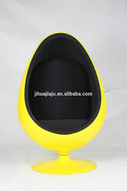 replica fiberglass egg ball pod chair hanging egg chair egg pod