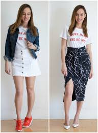 Fashion Trends 2017 by How To Wear The Graphic Tee 2017 Spring Fashion Trends