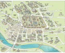 Lowell Massachusetts Map by Campus Maps