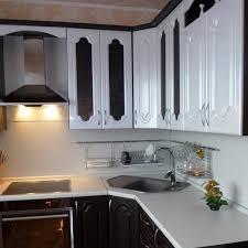 corner sinks for kitchen modern corner kitchen modern kitchens with space saving and