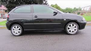 2005 seat ibiza 1 4 sport black for sale youtube