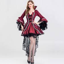 Queen Halloween Costumes Adults Red U0026 Black Victorian Period Luxury Halloween Costumes Women