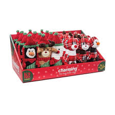 christmas poppers charming pets christmas pdq plaid poppers and squareheads