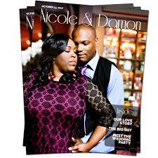 magazine wedding programs 8 page magazine wedding program album factory