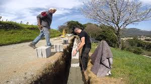bloc de pierre pour mur mur de soutènement 4 9 youtube