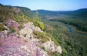 Michigan Mountains images Map of waterfalls in the porcupine mountains jpg