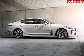 Rwd Kia Kia Announce Stinger Rwd Large Performance Sedan