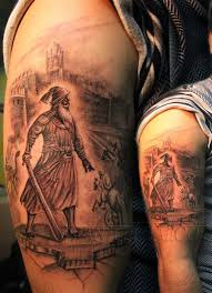 25 amazing warrior tattoos