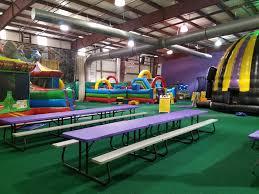 kids birthday party locations birthday columbus ohio inflatables indoor supergames