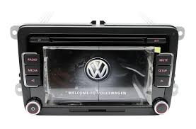 volkswagen rcd510usb rcd510 radio 6 disc cd mp3 player golf passat