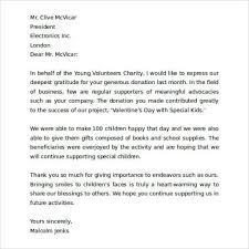 Charity Letter To Business Dandy Thank You Letter For Business Letter Format Writing