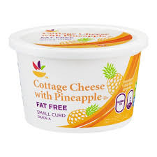 How Much Fiber In Cottage Cheese by Sb Cottage Cheese With Pineapple Fat Free From Giant Food Instacart