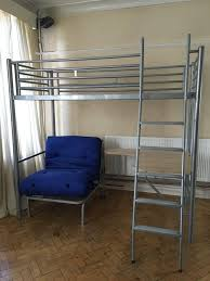 High Sleeper With Futon Second Hand Beds And Bedding Buy And - Jay be bunk beds