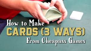how to make cards 3 ways youtube