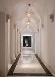 Hallway Pendant Lighting Mediterranean Hallway With Pendant Light High Ceiling Zillow