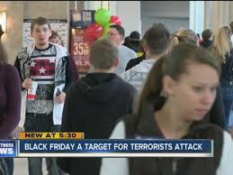 black friday crowds target shopping malls are targets for terrorist attacks on black friday