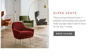 Modern  Contemporary Furniture West Elm - Modern living room furniture gallery
