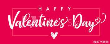 happy valentines day banner lettering happy valentines day banner pink valentines day