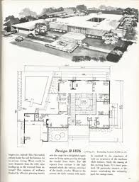 vintage house plans mid century modern home designs design and interior small house