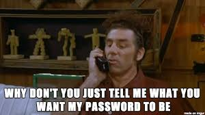 your password must contain an uppercase letter number alphanumeric