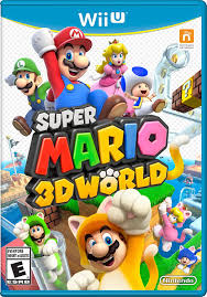 amazon com super mario 3d world nintendo wii u nintendo of