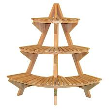 plant stand literarywondrous wooden corner plant stand image