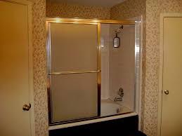 Clean Shower Glass Doors Bathtub Shower Doors Lowes In Distinguished Bathroom Glass Door