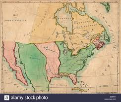 The Map Of Mexico by A Map Of North America Outline Of North America In Correspond