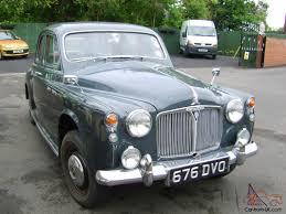 rover p4 80 4 door saloon historic vehicle tax and mot exempt