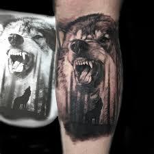 realistic tattoo portraits animals objects primitive tattoo
