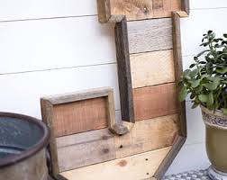 Barn Wood Letters Wood Letters Etsy