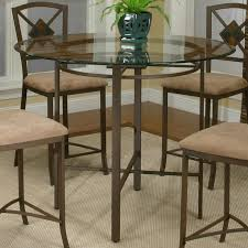 glass pub table and chairs cramco inc cramco trading company piazza metal pub table w glass