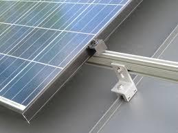solar panel standing seam metal roof