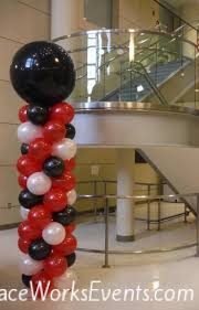 balloon columns balloon columns faceworks events baltimore md