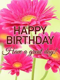 lovely pink happy birthday card birthday greeting cards