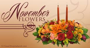 november seasonal flowers say thanks with november flowers