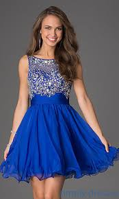 blue cocktail dress dress yp