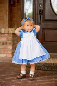 Halloween Costumes Alice Wonderland Custom Alice Wonderland Dress Pinafore Baby Toddler