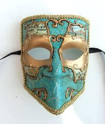 bauta mask gold bauta venetian mask with notes